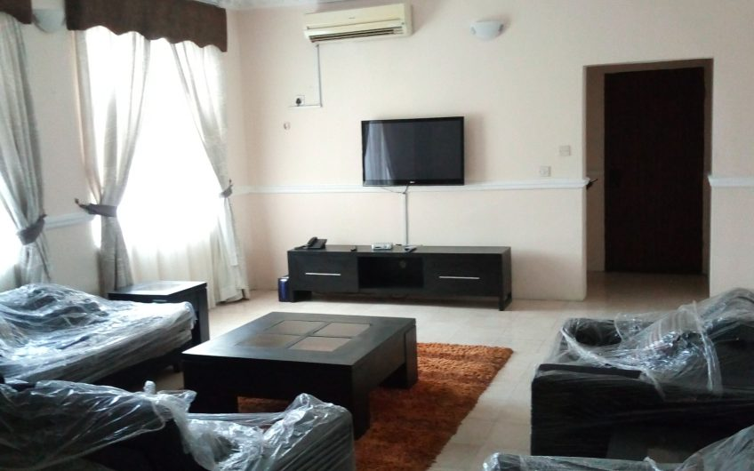 Serviced and Furnished 3 Bedroom Apartment with Necessary Facilities
